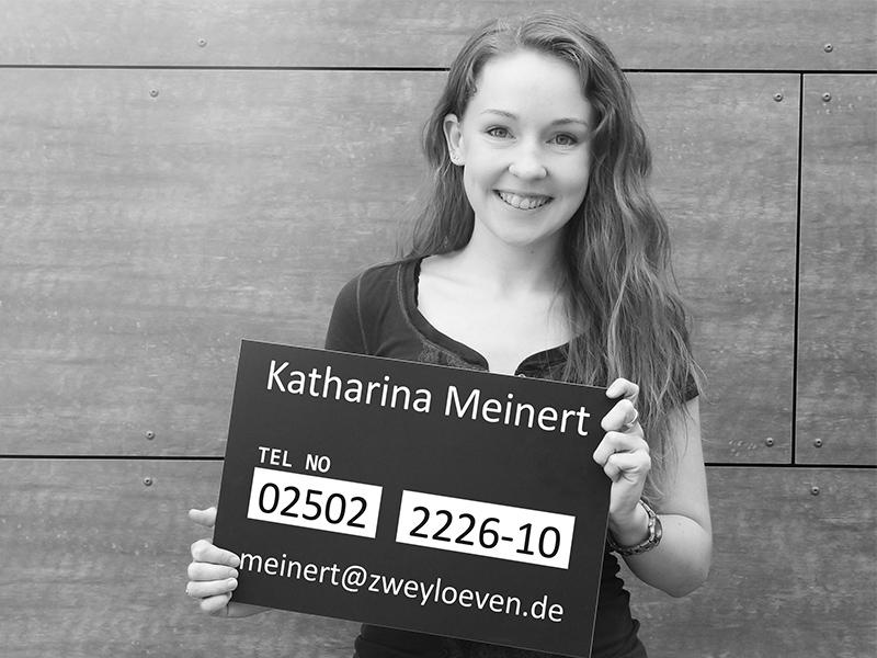 Katharina Meinert - Produktionerin