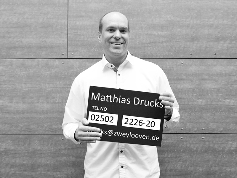 Matthias Drucks - Key Account Manager