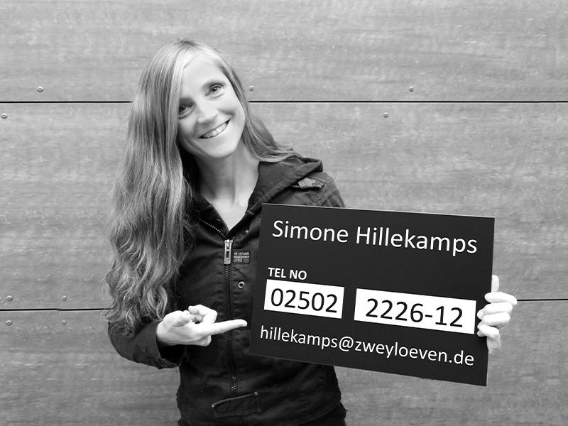 Simone Hillekamps - Projektmanagerin
