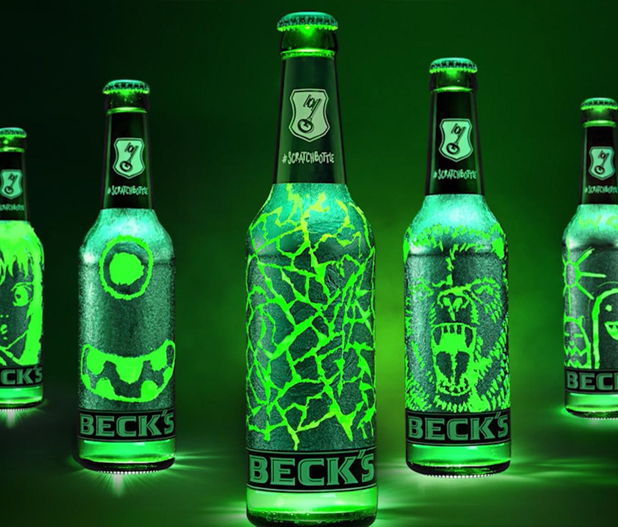 Beck's - Scratchbottle Flasche