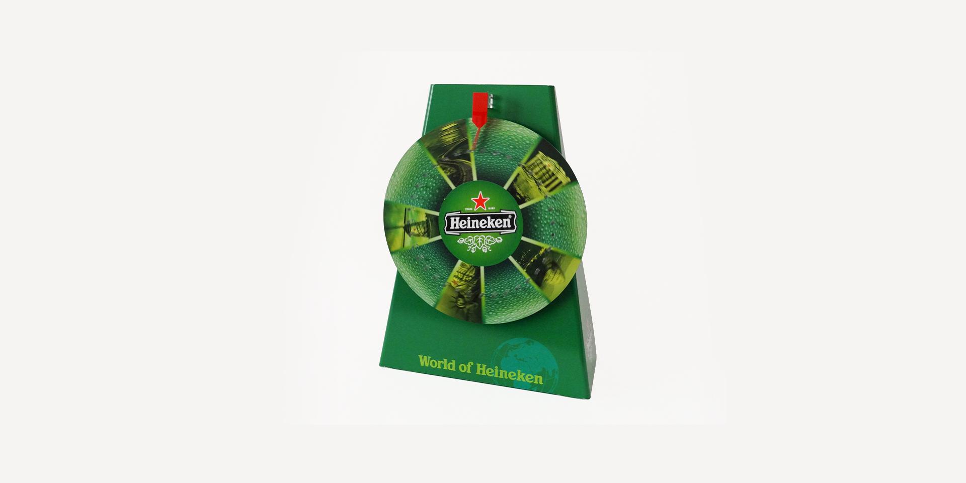 Glücksrad für Heineken