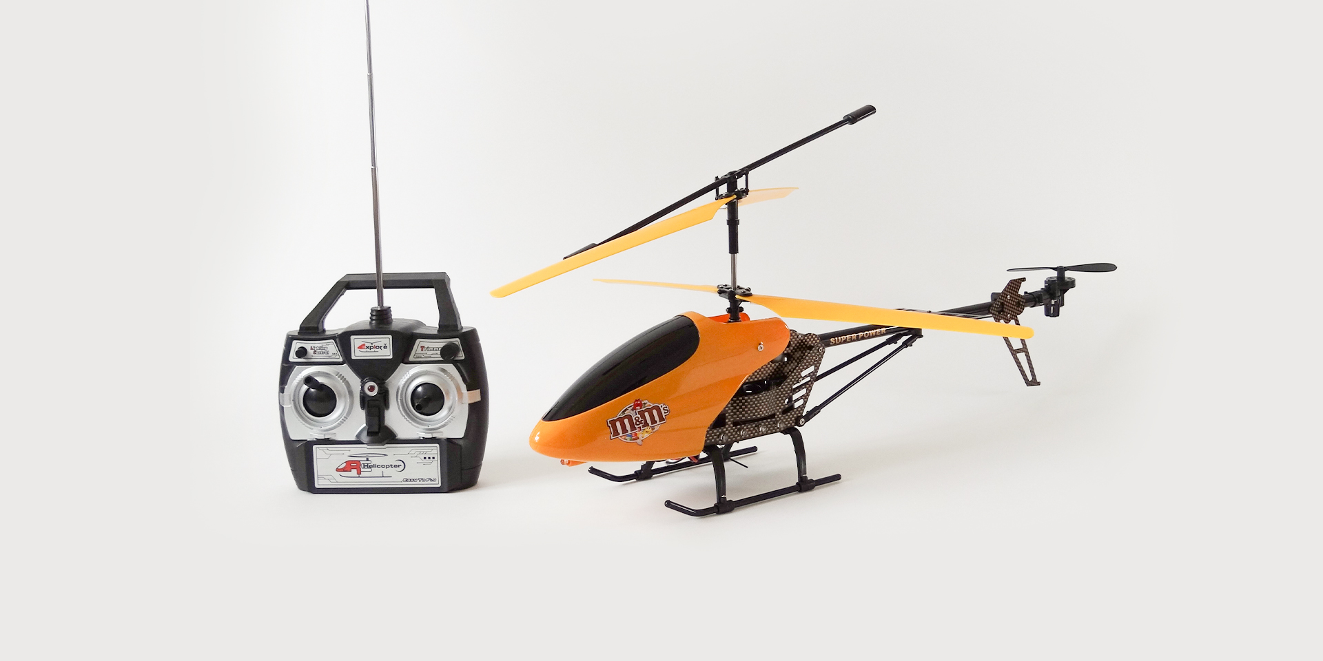 M&M's - Helikopter