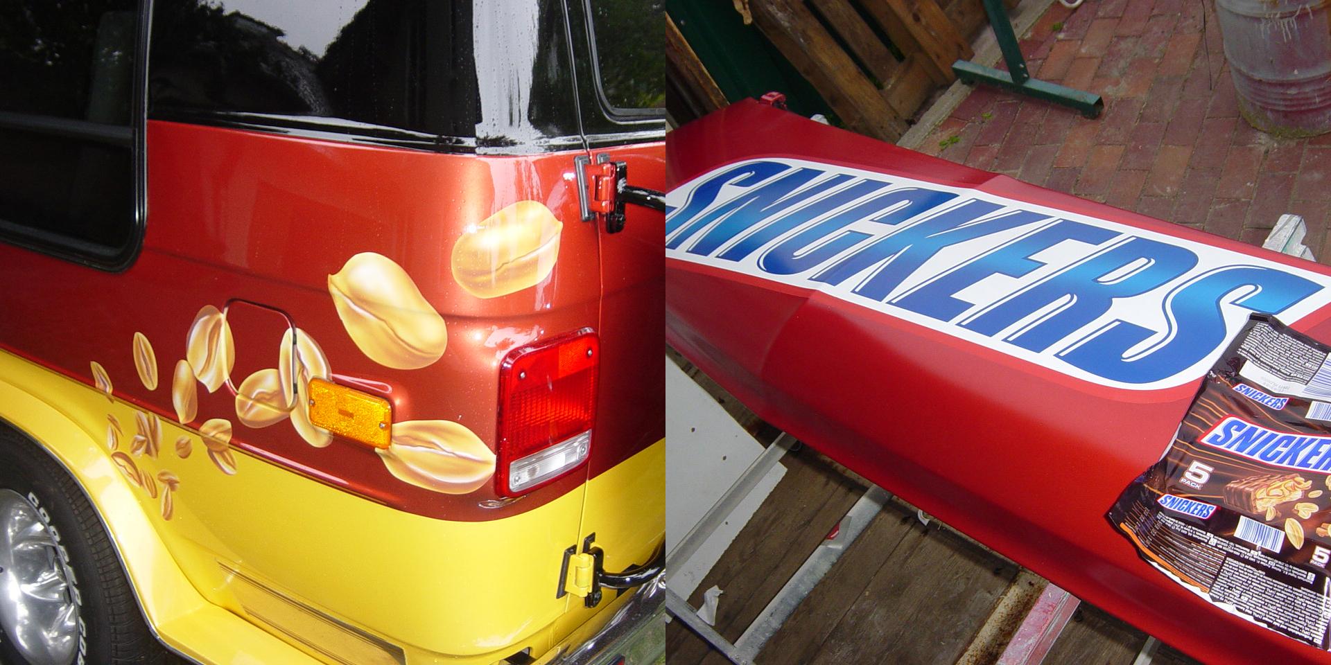 Allemann - Snickers Promo Van