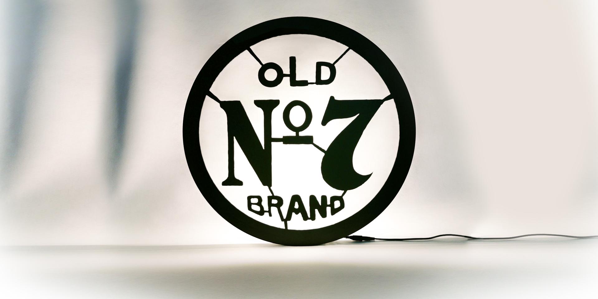 Jack Daniel's Old Nr 7 - Wandleuchte - Zweyloeven Werbeproduktion GmbH