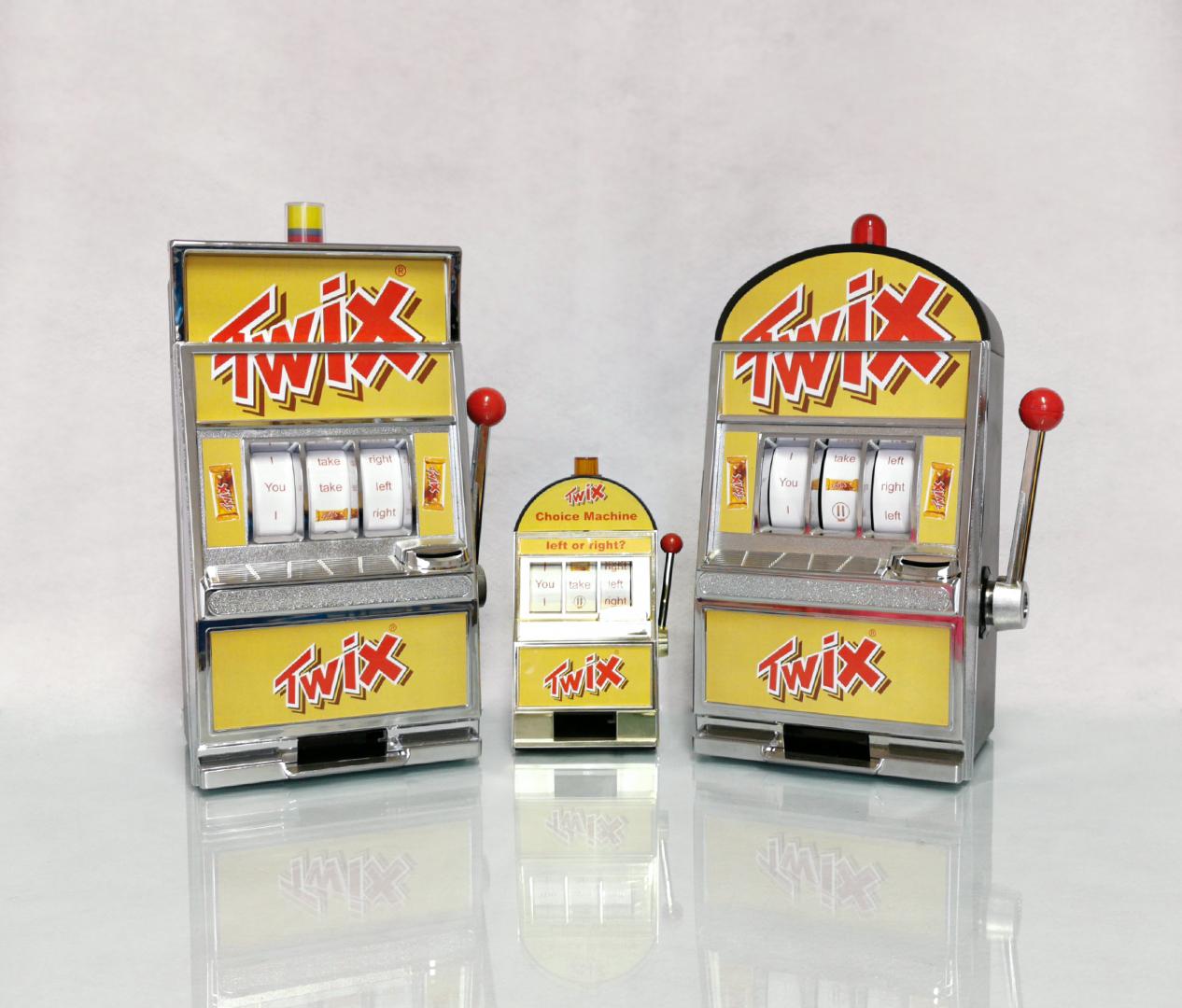 TWIX Slotmachine - Zweyloeven Werbeproduktion GmbH