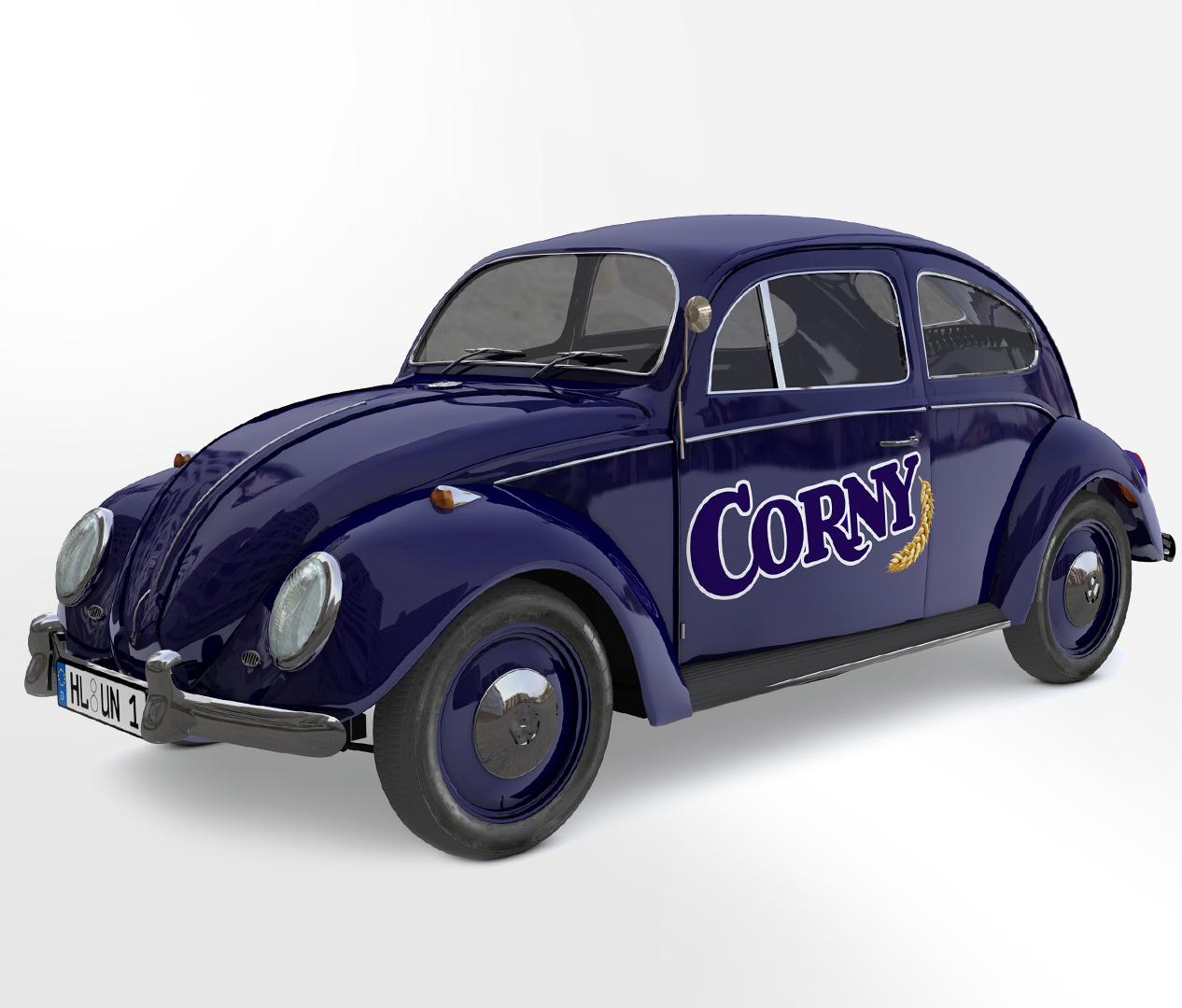Corny Jubiläum - Promotion Käfer