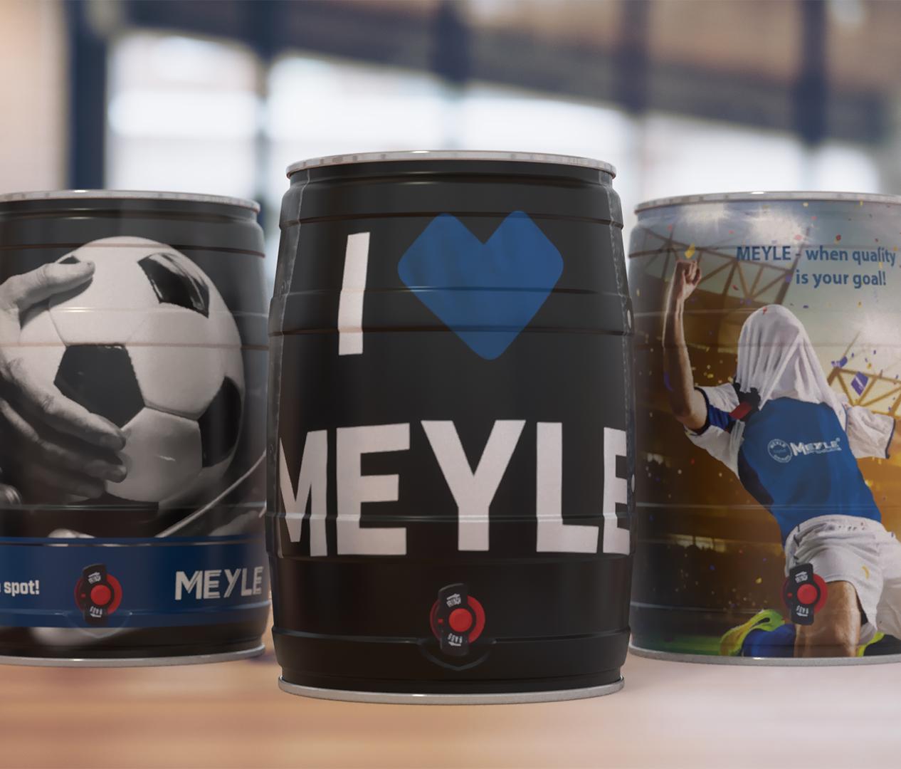 Meyle Bierfässer - Zweyloeven Werbeproduktion GmbH