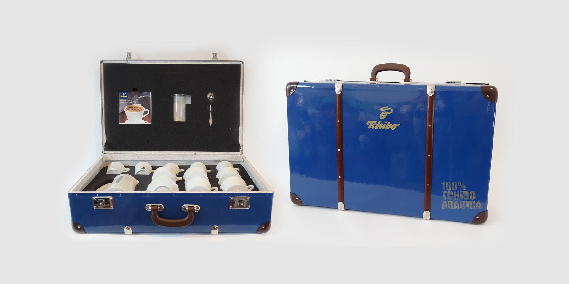 Tchibo Präsentationskoffer - Zweyloeven Werbeproduktion GmbH