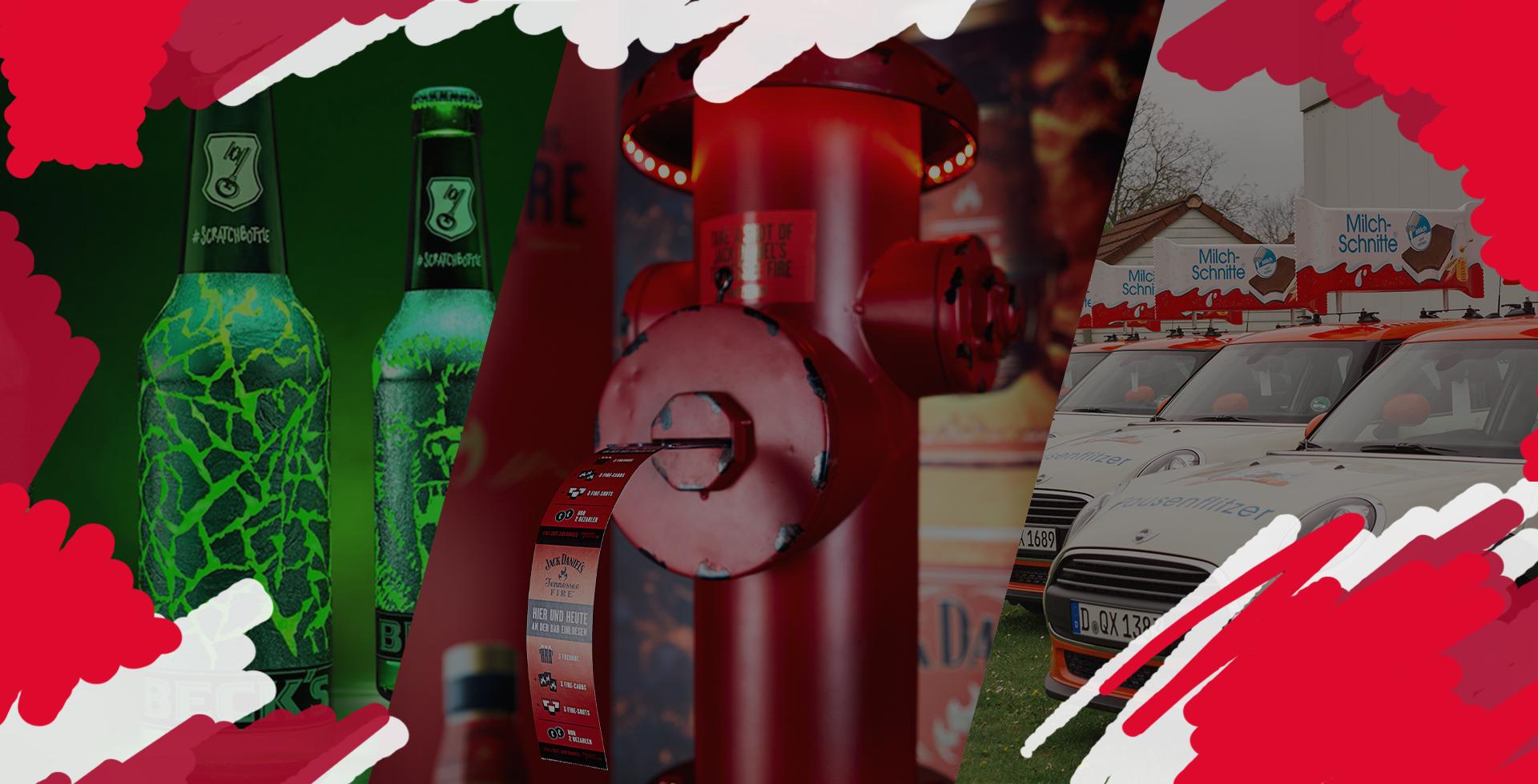Zweyloeven GmbH - Beck's, Jack Daniel's, Ferrero - Slider