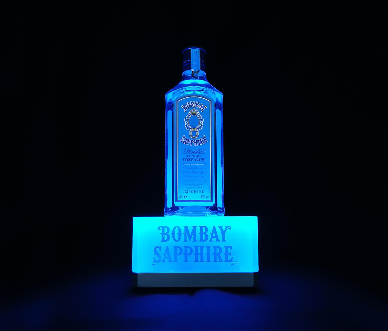 Bombay Sapphire - Sockel aus Bleikristall - Zweyloeven Werbeproduktion GmbH