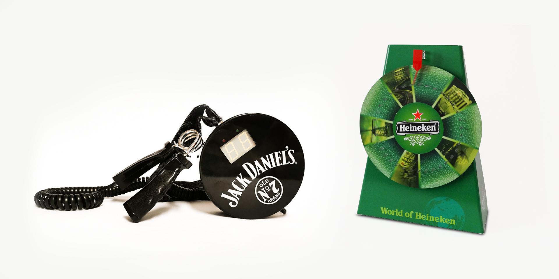 Zweyloeven GmbH - Jack Daniel's Handtrainer - Heineken Glücksrad