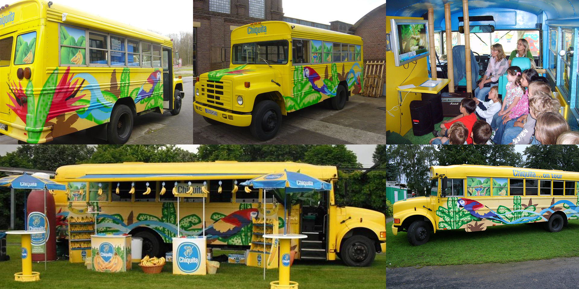 Chiquita - Promotionbus - Zweyloeven Werbeproduktion GmbH