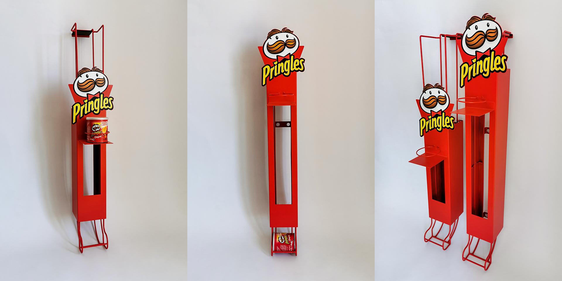 Pringles - Kühlschrank Hänger - Dosenspender - Zweyloeven Werbeproduktion GmbH