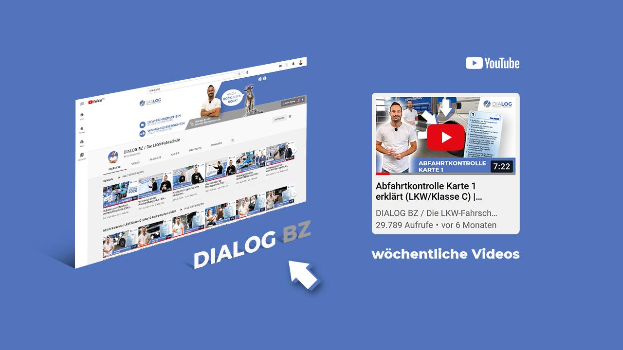 Dialog BZ – YouTube Videos/Content – Referenz – Zweyloeven Werbeproduktion GmbH
