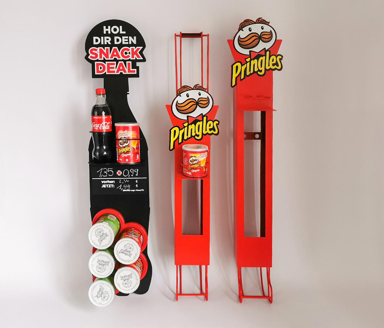 Pringles – Kühlschrank Hänger – Dosenspender – Zweyloeven Werbeproduktion GmbH