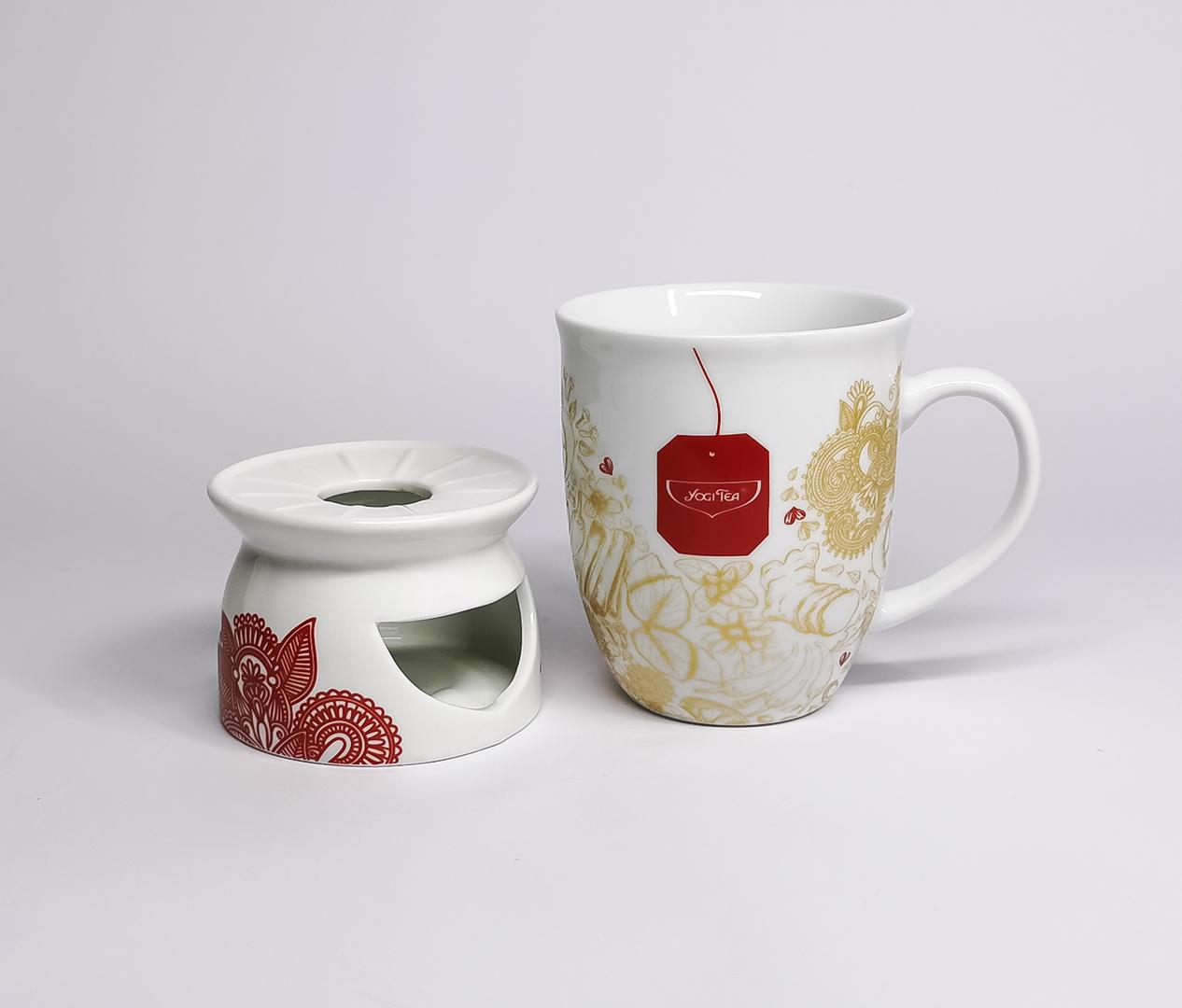 Yogi Tea – Tee, Tasse, Stövchen – Zweyloeven Werbeproduktion GmbH