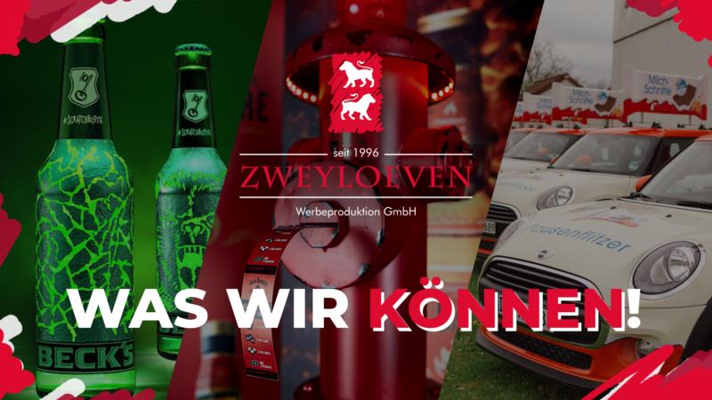 Zweyloeven Werbeproduktion GmbH - Trailer Produkt Portfolio