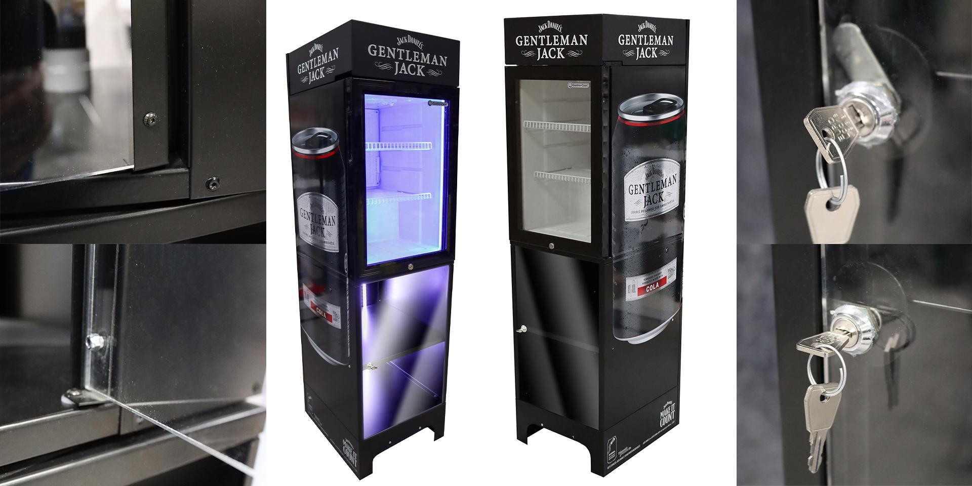 Jack Daniels - Gentleman Jack - Brown Forman - Kühlschrank - Zweyloeven Werbeproduktion GmbH